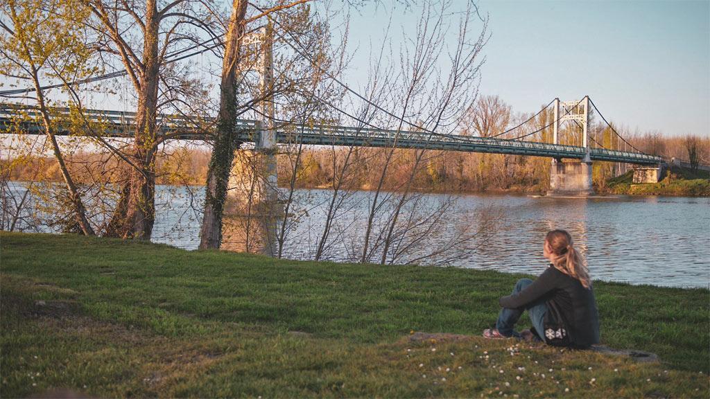 Pont suspendu auvillar