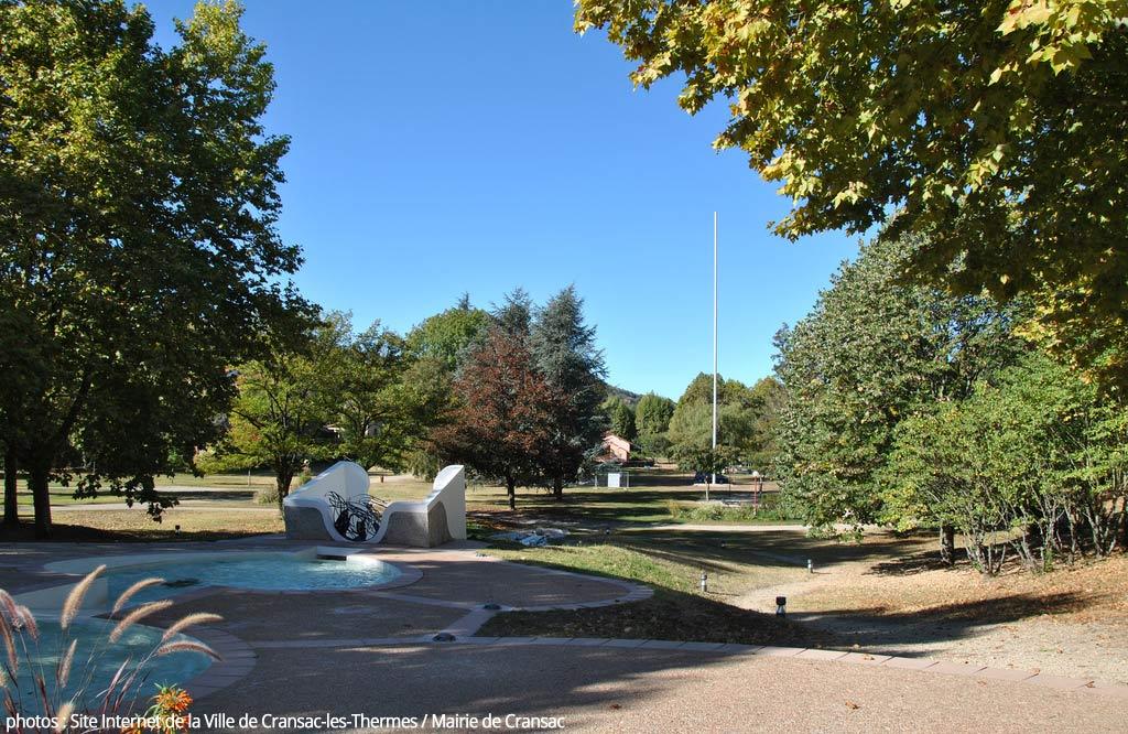 Parc thermal de Cransac
