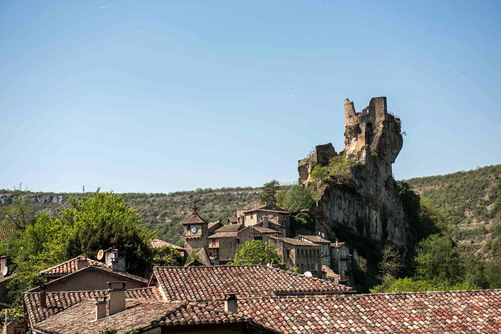 Le Château de Penne du XIIème siècle