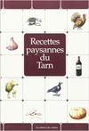 Livre Recettes paysanes du Tarn