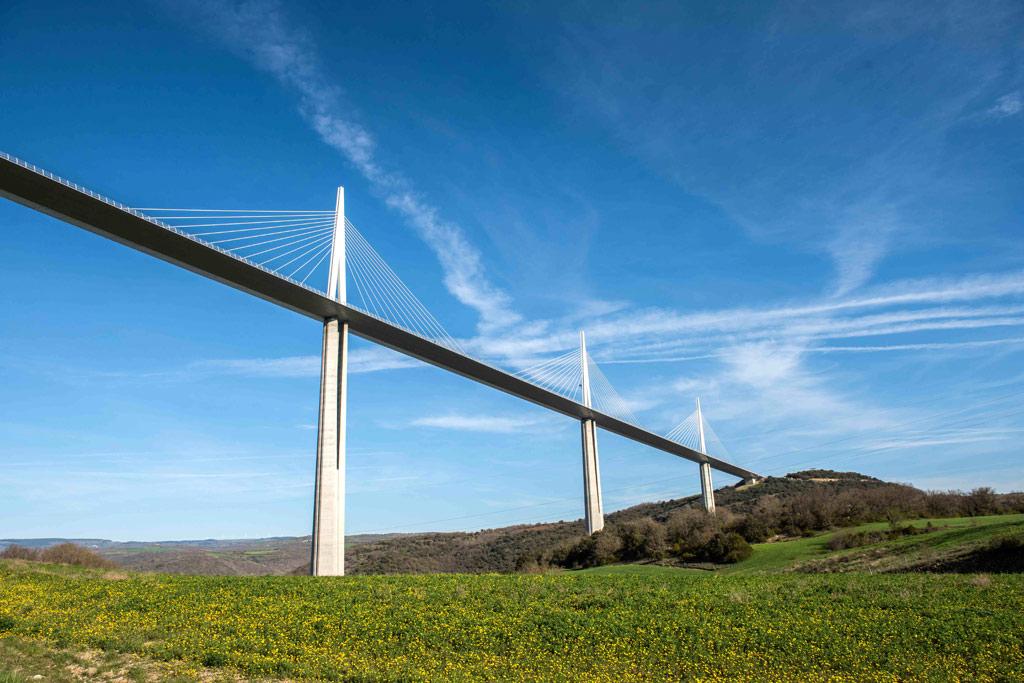 Le fameux Viaduc de Millau