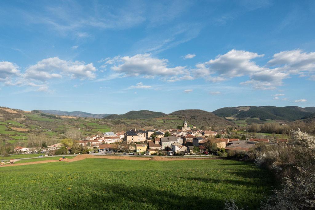 Nant, village verdoyant