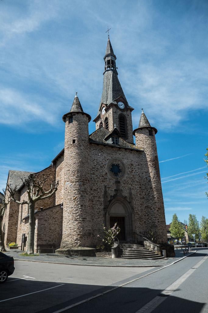 L'église de Naucelle
