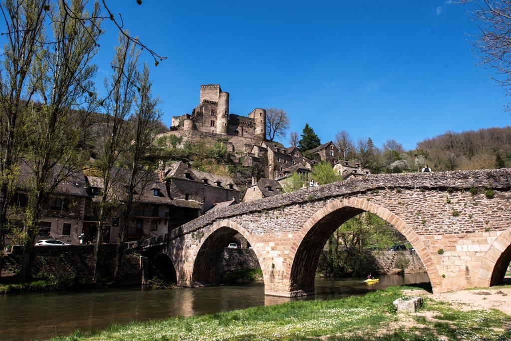 Le village perché de Belcastel