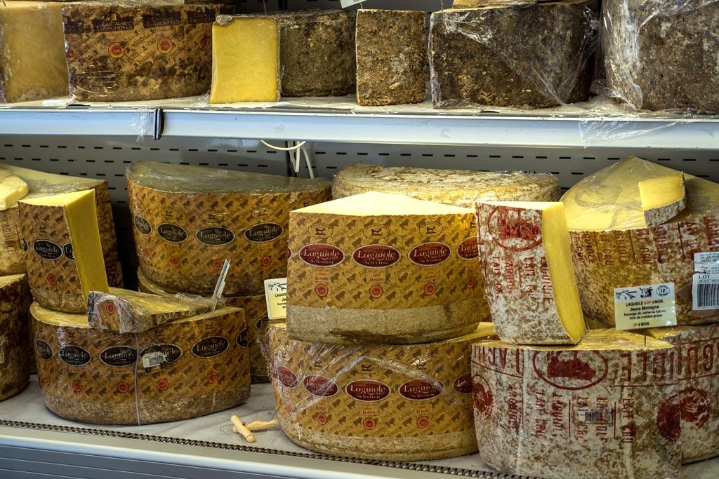 Les fromages, autre spécialité de Laguiole