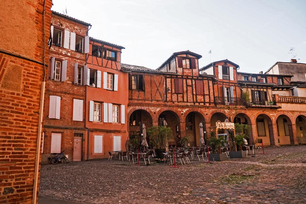 Les vieilles maisons d'Albi