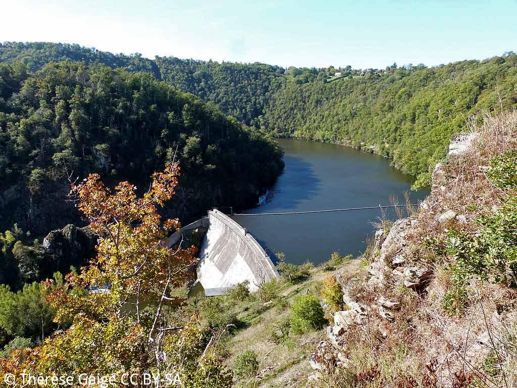 Le barrage de Thuriès, à Pampelonne
