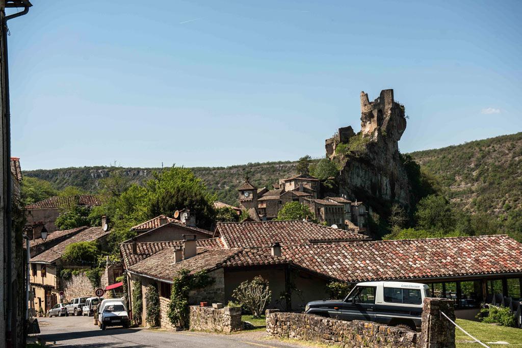 Les impressionnantes ruines du Château de Penne