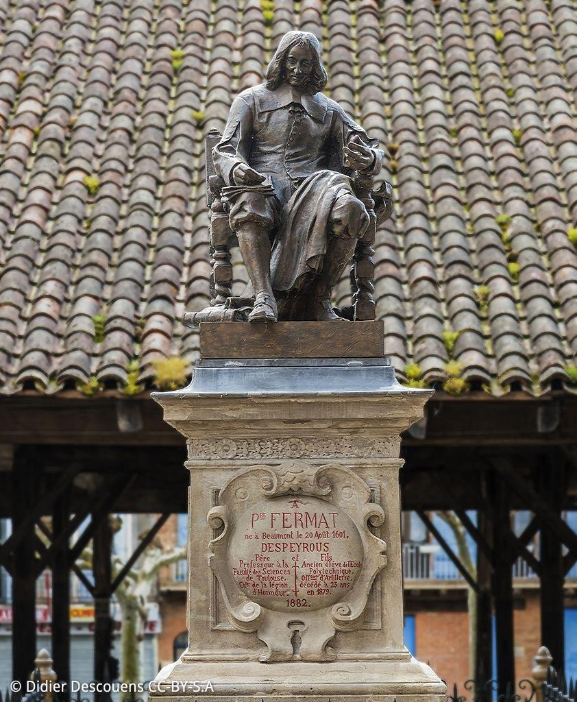 Beaumont-de-Lomagne, Statue de Pierre Fremat