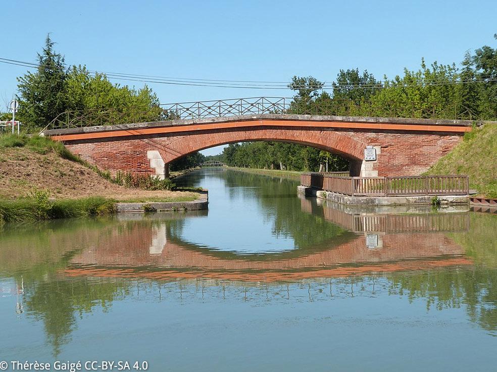 Montech, canal latéral de Garonne