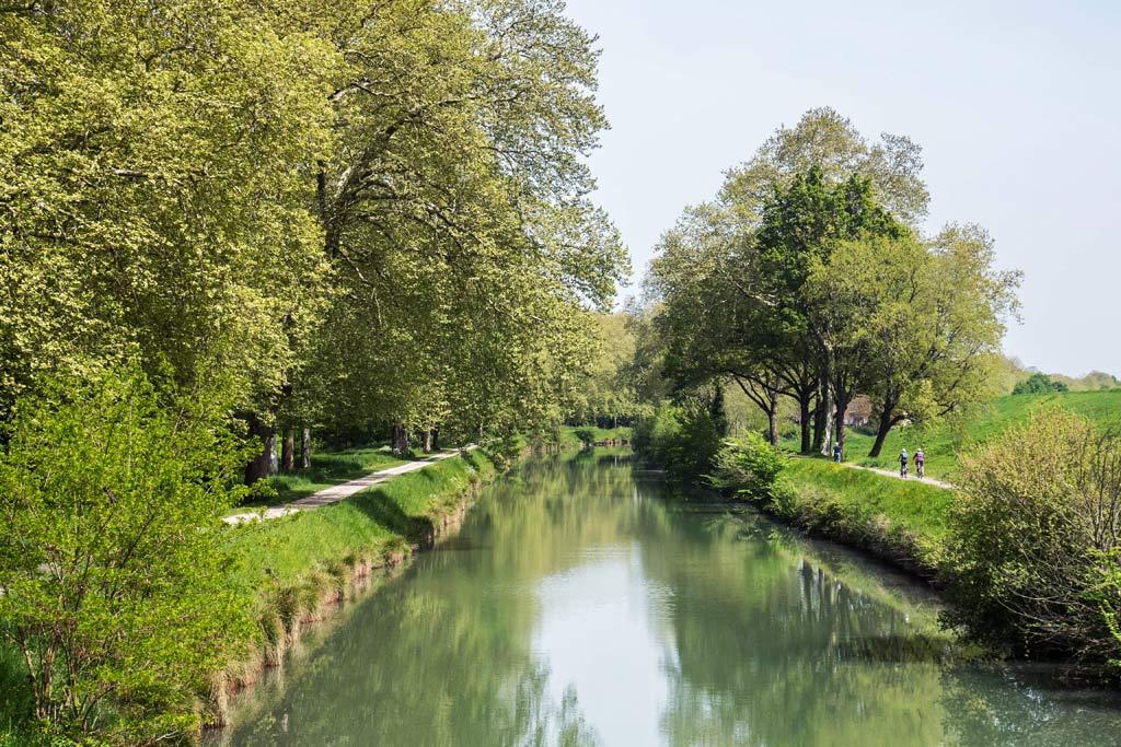 Valence d'Agen, La Garonne