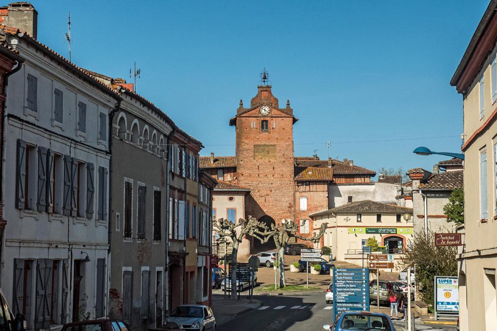 Verdun-sur-Garonne et la Tour de l'Horloge