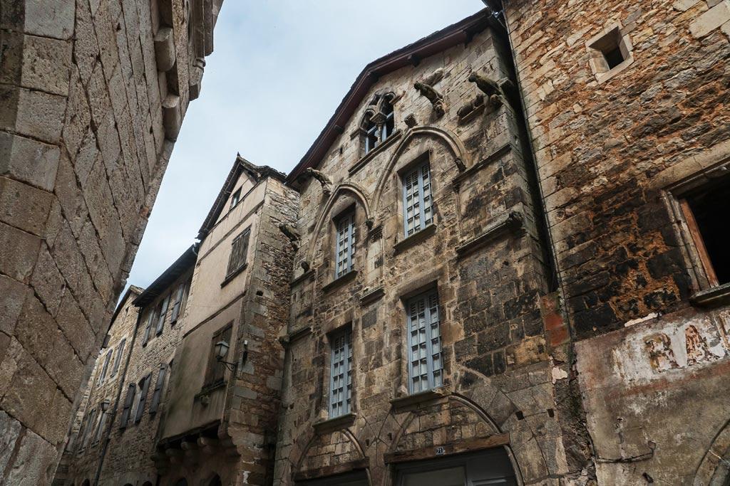 Le centre médiéval de Caylus