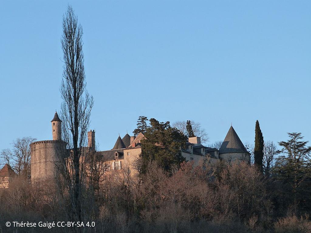 Parisot, le Château de Cornusson