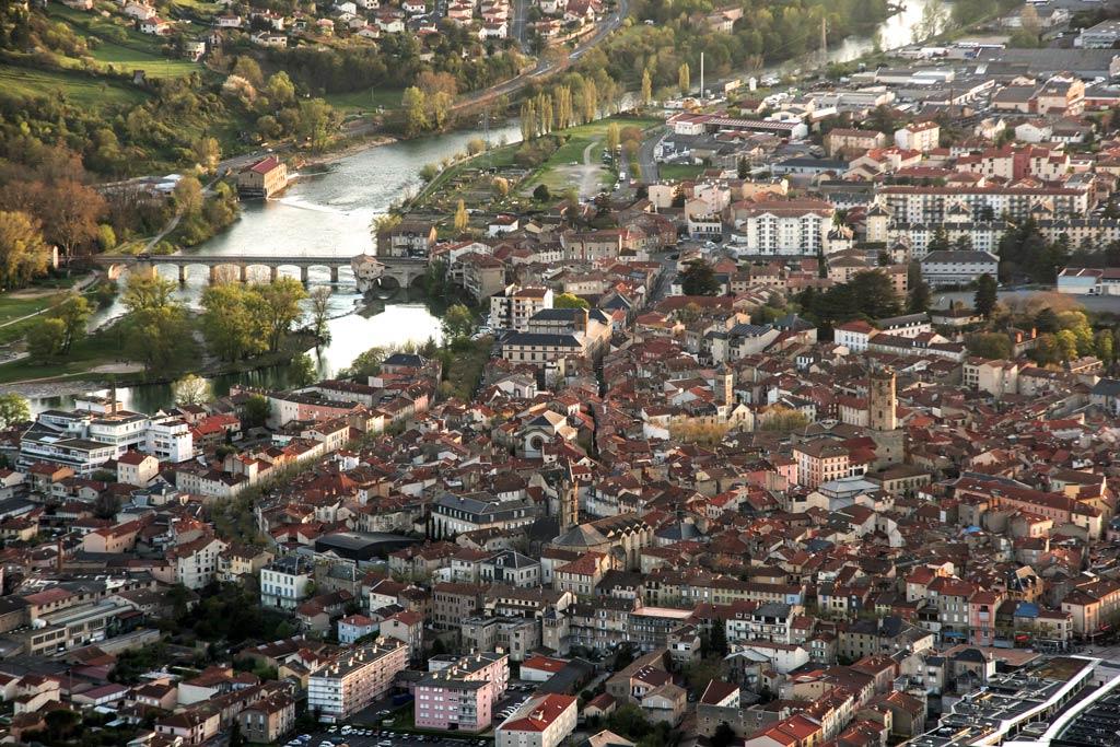 Il y a de très beaux marchés à Millau et dans tout l'Aveyron