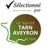 Selectionné par le Guide Tarn Aveyron